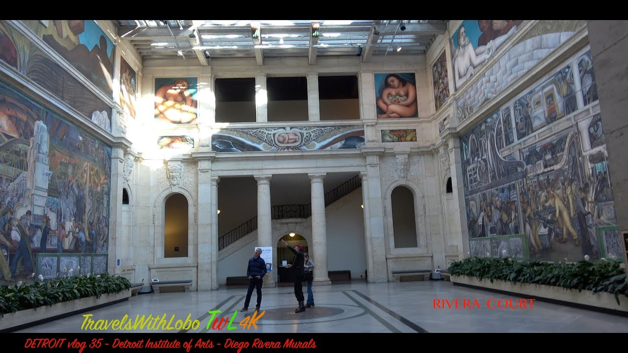 DETROIT INDUSTRY MURALS – DIEGO RIVERA – CONTROVERSIAL TO EPIC