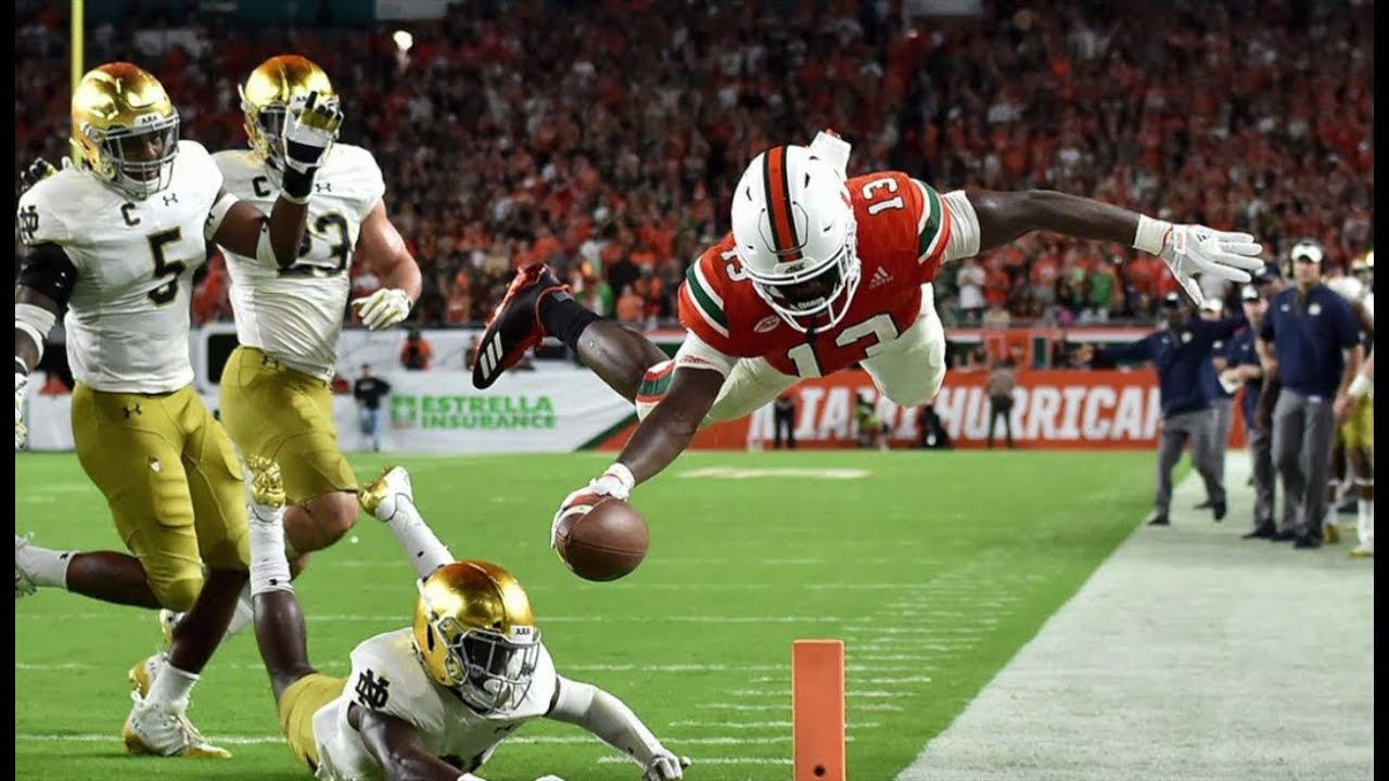 Played in/Played out: Here come the Hurricanes; Notre Dame's hopes fade