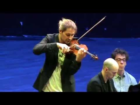 David Garrett Julien Quentin sonate C Franck Strasbourg 2016