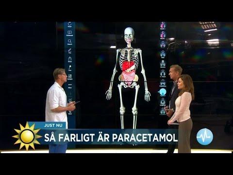 Doktor Mikael: S farligt r Alvedon - Nyhetsmorgon (TV4)