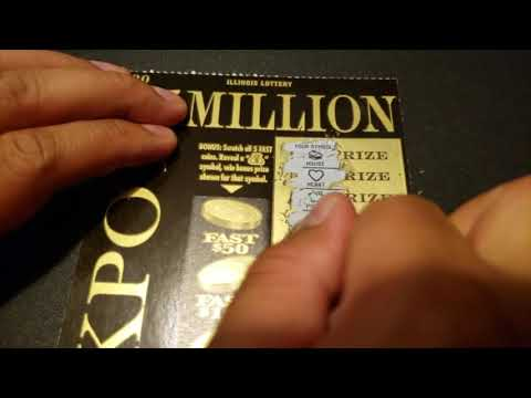 [$30 Ticket] $5 Million Jackpot Scratch Ticket IL Lottery