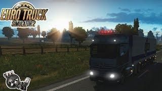 Euro Truck 2 - Viagem delicia com o MB Actros! G27