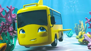 Buster In The Ocean Song - Go Buster the Yellow Bus | Nursery Rhymes & Cartoons | LBB Kids