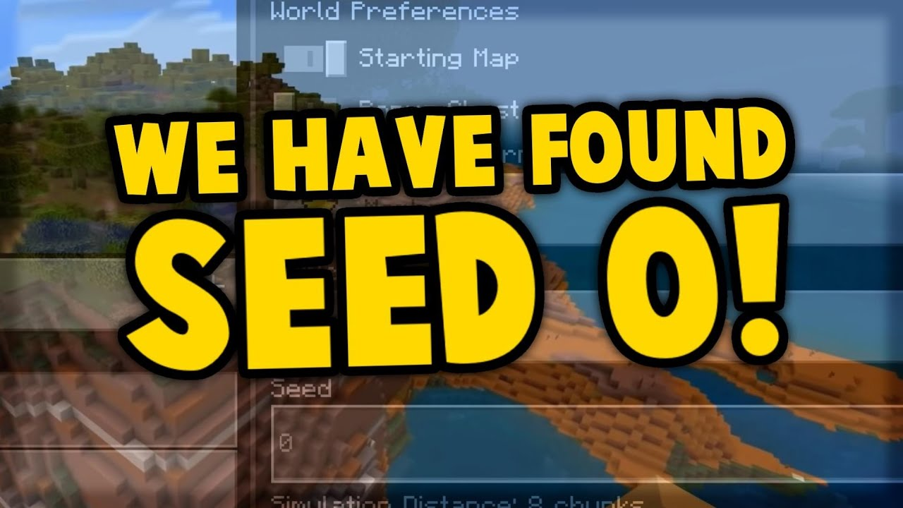 Download You're Not Supposed To Use This Seed...