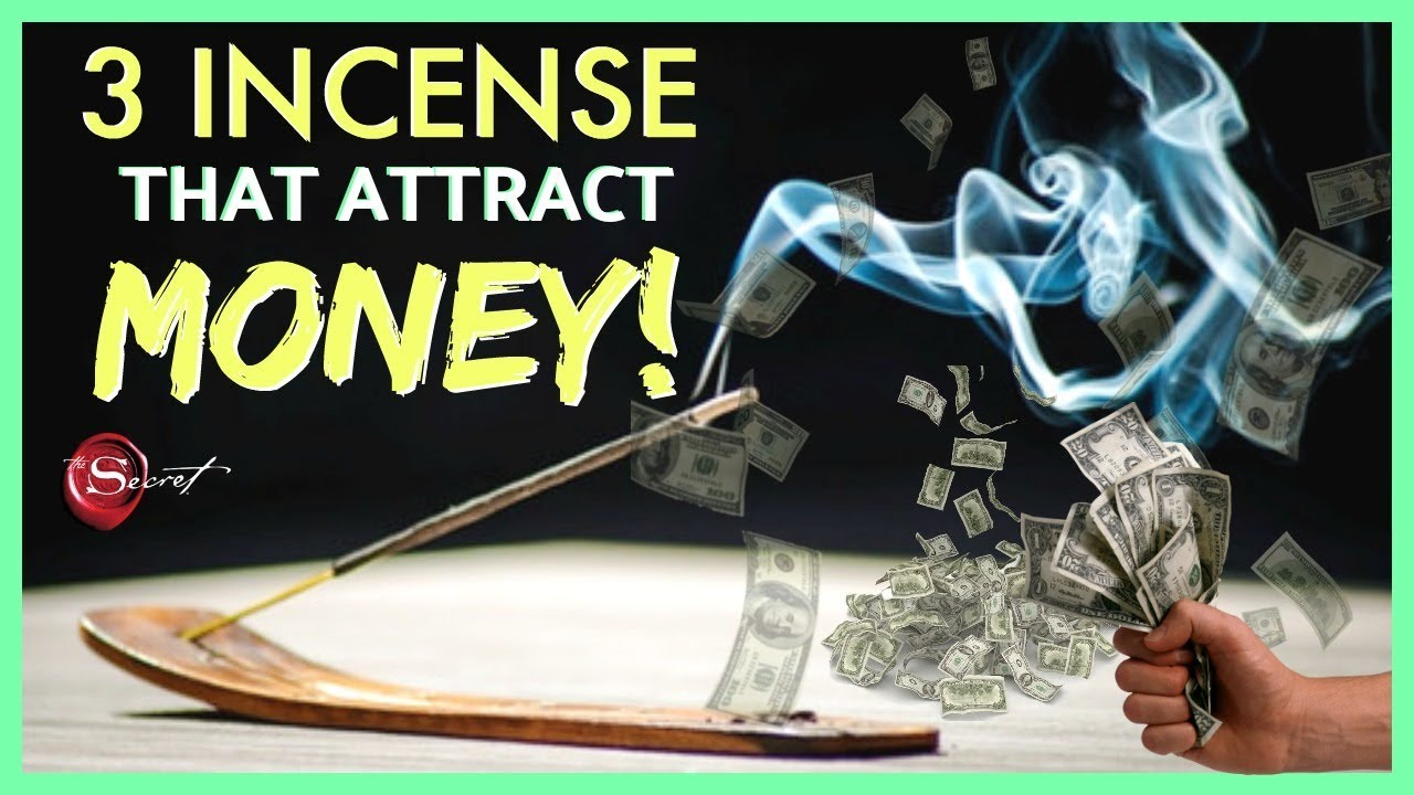 3 INCENSE TO BURN TO ATTRACT MONEY! │ HOW YOU CAN MANIFEST MONEY USING  INCENSE STICKS