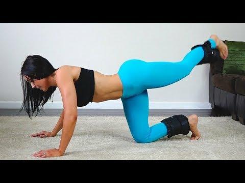 12 Min Booty Lift Workout | Rounder Bubble Butt