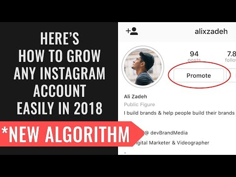 How to HACK the new Instagram Algorithm and GROW your Account in 2018