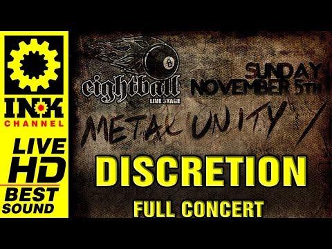 DISCRETION - full concert [METAL UNITY 5/11/2017]