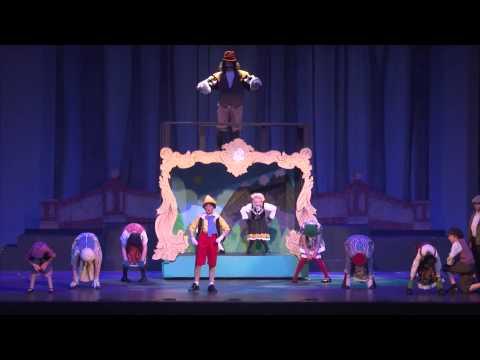 "Tuscaloosa Children's Theatre presents ""My Son Pinocchio Jr."" - ""I've Got No Strings"""