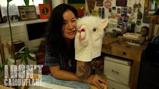 Weaver Cynthia Alberto on Infinity, Textile and Her Alter Ego Llama - A Mini Documentary