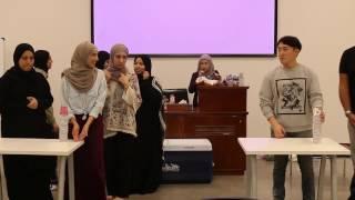 اللقاء الترحيبي لنادي الفلك - جامعة قطر QU Astronomy club welcoming event