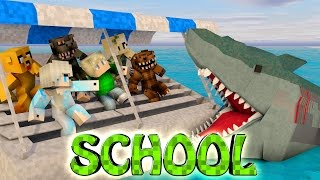minecraft school   military school of mods jaws shark attack jaws sharks great white
