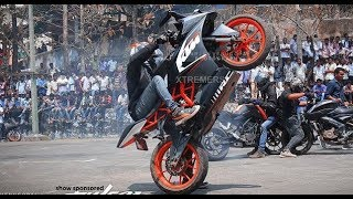 KTM RC 200 | KTM Duke 200 |  KTM Stunt Show 2019 | New Awesome Stunt | Must Watch |HD