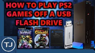 pS2 How To Play Games With USB Without Disc