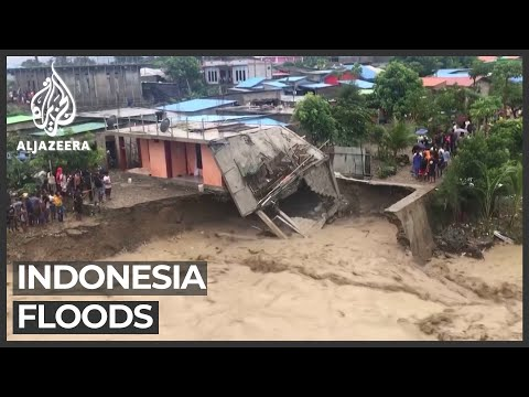 Indonesia: At least 44 killed by flash floods and landslides