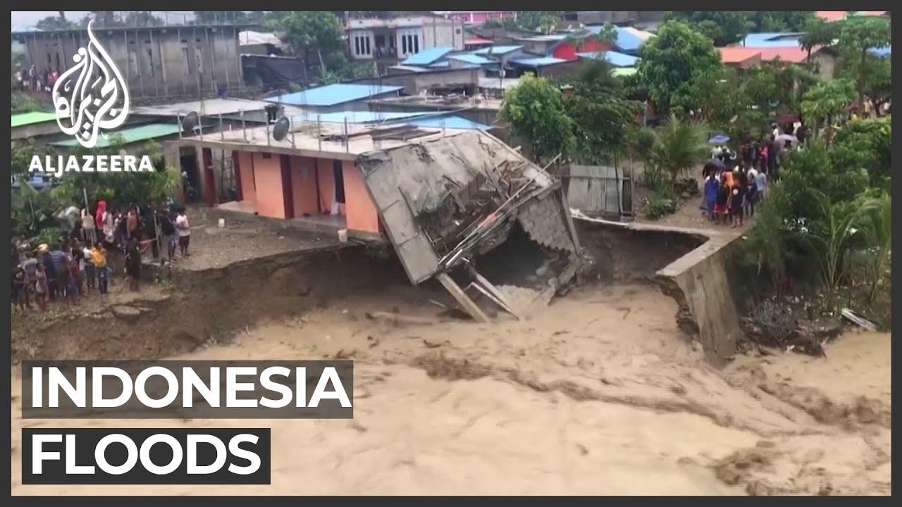 Indonesia: At least 44 killed by flash floods and landslides - Al Jazeera English