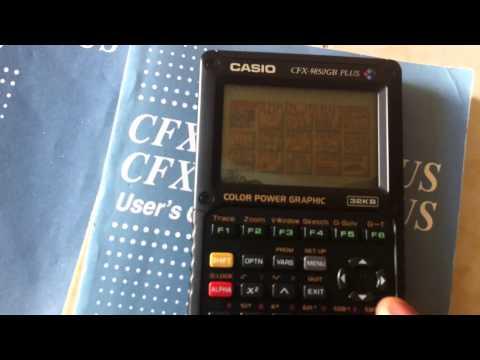 CALCULADORA CASIO CFX-9850GB PLUS, COLOR NEGRO
