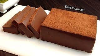 Punya Sisa Roti Tawar? Bikin Ini Aja Rasanya Enak Lembut Dan Nyoklat - Puding Brownies Roti Tawar