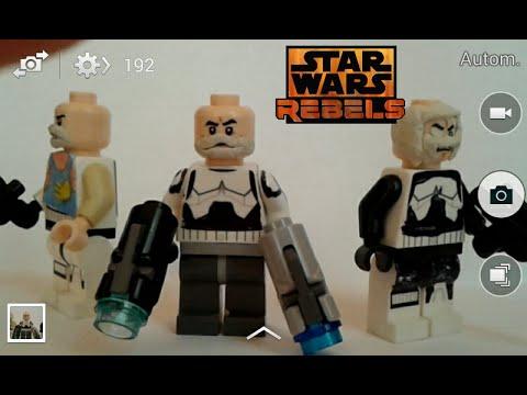 Lego star wars rebels captain rex - YouTube