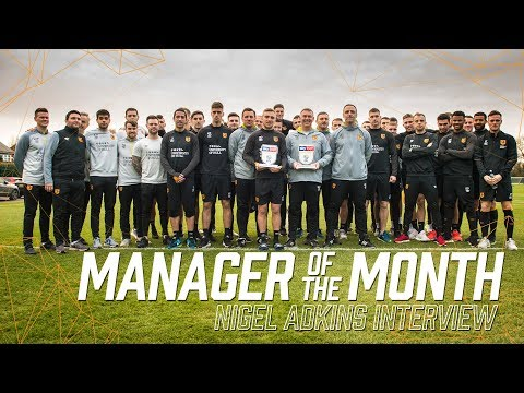 Nigel Adkins Wins Sky Bet Championship Manager of the Month Award! Interview