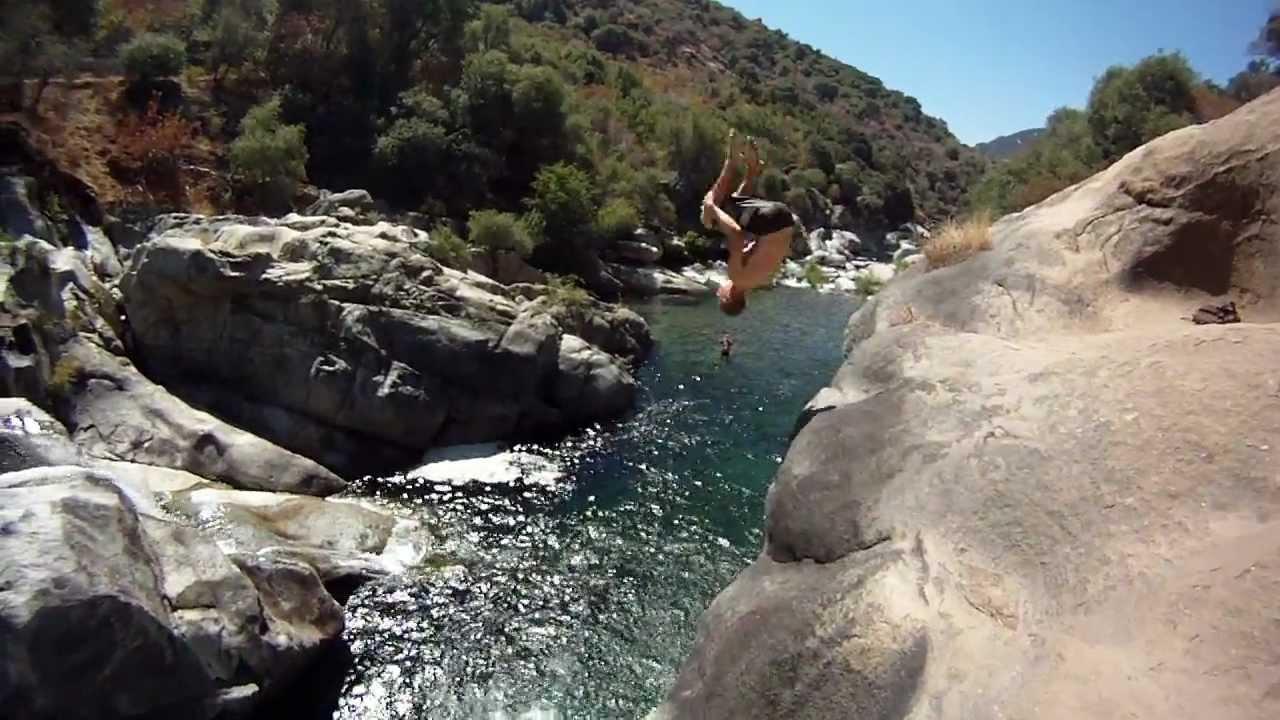 Potwisha Cliff Jumping Youtube