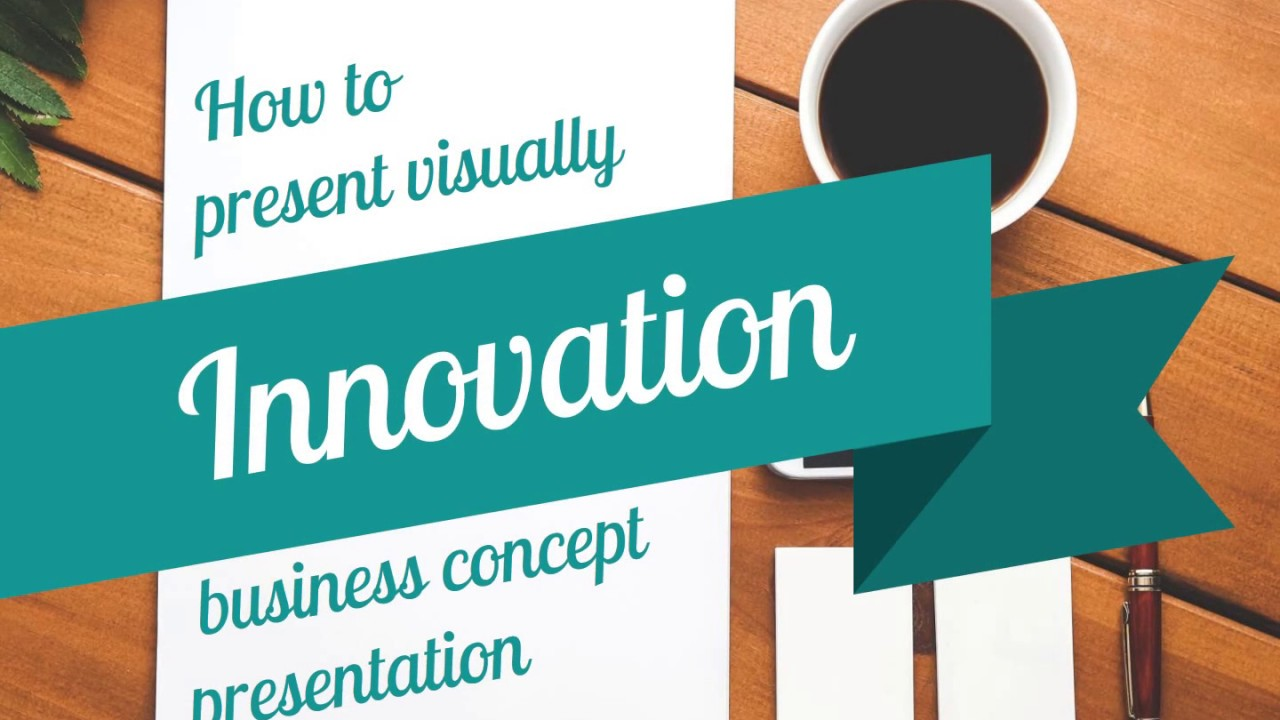 how to present innovation business ppt concept presentation youtube
