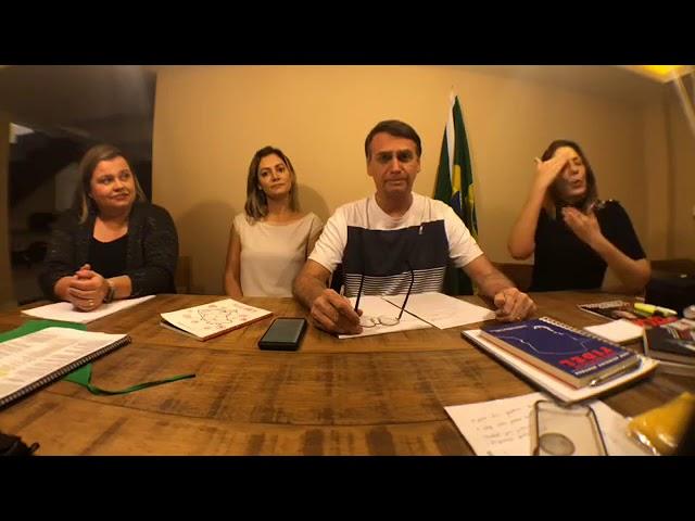 14/10/2018: BOLSONARO FALA MAIS VERDADES!