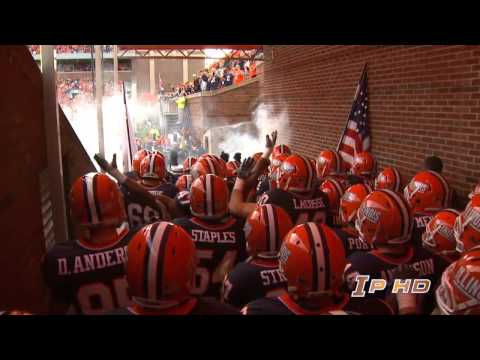 2011 Illinois  Football Team Intro