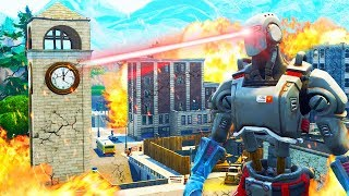 Tilted Towers DESTROYED by ROBOT in Season 7..