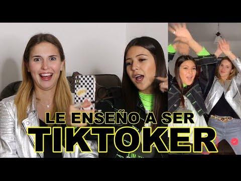 TE ENSEÑO A SER TIKTOKER 🎶 | IGNACIA ANTONIA 👑 FT. BELÉN SOTO