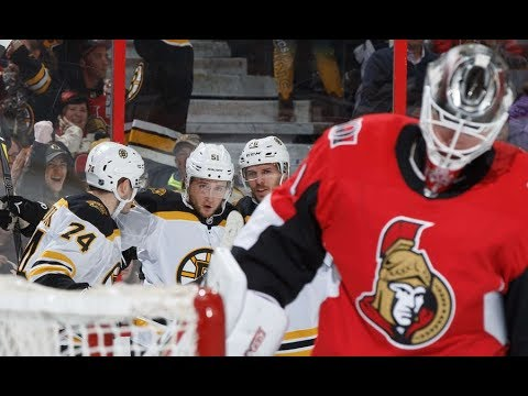 Game 37-Changes Looming-Ottawa Senators vs Boston Bruins 2017-18