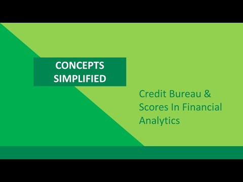 Technical Course: Financial Analytics: Introduction to Financial Analytics(Credit Bureau)