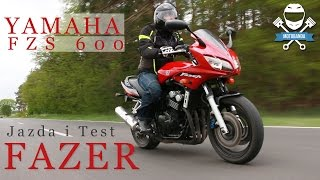 Niedrogi motocykl turystyczny? Yamaha FZS600 Fazer - Test Opinia