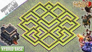 NEW BEST! TH9 Base 2020 With COPY LINK | TH9 Farming/Trophy Base - Clash Of Clans