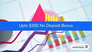 Up To $300 No Deposit Bonus from ForexMart