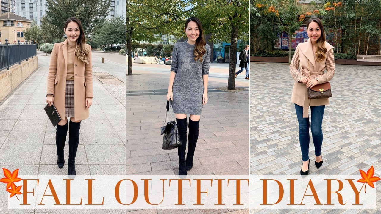 [VIDEO] - 7 DAYS OF FALL OUTFITS | AUTUMN OUTFIT DIARY 4