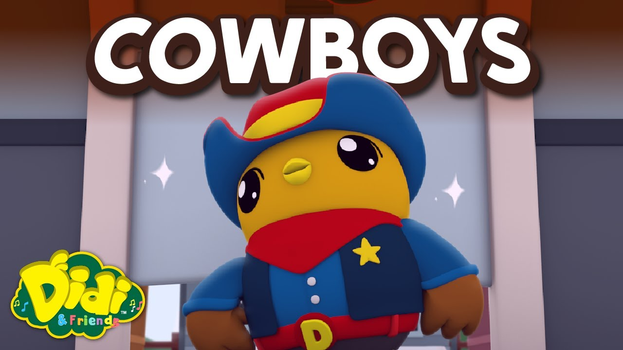 Cowboys | Fun Family Song | Didi & Friends Song for Children