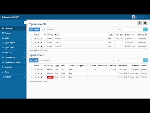 Rukovoditel - Universal Project Management Software (Open So
