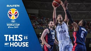 Argentina v United States - Full Game - FIBA Basketball World Cup 2019 - Americas Qualifiers