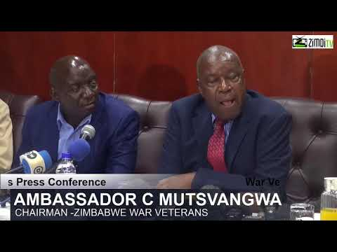 Ambassador Mutsvangwa Addresses Media about the situation in zim