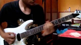 Helloween-Nabataea (guitar cover, E tuning)