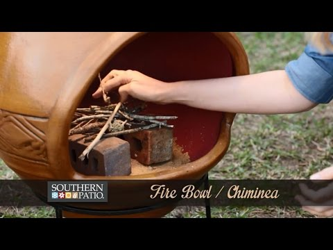 How To Use A Chiminea. Southern Patio