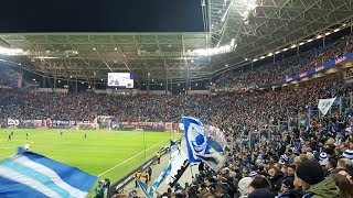 Stimmung der Herthafans beim Sieg gegen das Produkt aus Leipzig!