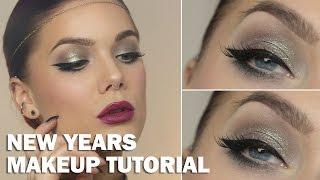 New Years Makeup (with subs) - Linda Hallberg Makeup Tutorials Thumbnail