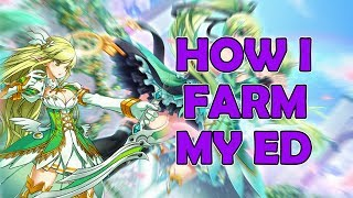 How I farm my ED in Elsword (Void)