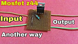 12v.........24volt  to constant 4.5volt with Mosfet & Zener