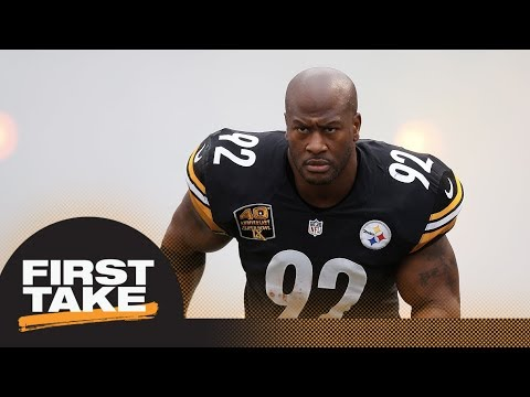 First Take Reacts To Steelers' Criticism Of James Harrison Over Move To Patriots | First Take | ESPN