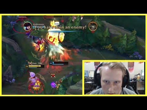 "TSM Zven Shows The True Definition Of ""NUTTY"" - Best of LoL Streams #578"