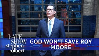 God Distances Himself From Roy Moore