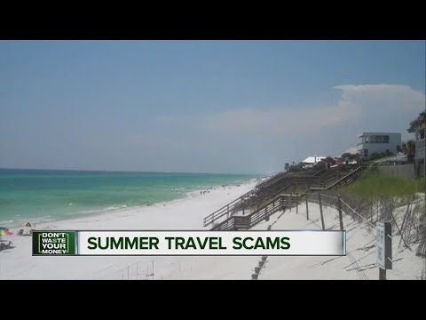 Summer travel scams